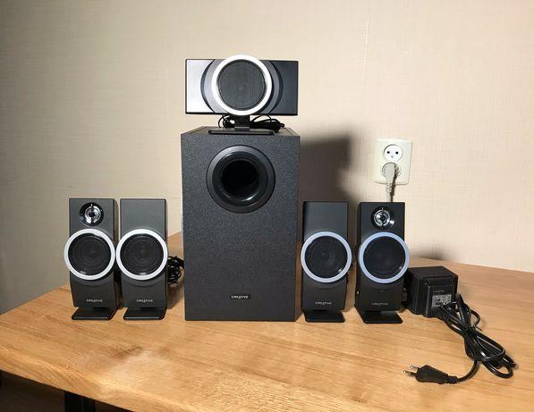 Продам колонки для компьютера Creative speaker inspire T6100 5.1  !!!