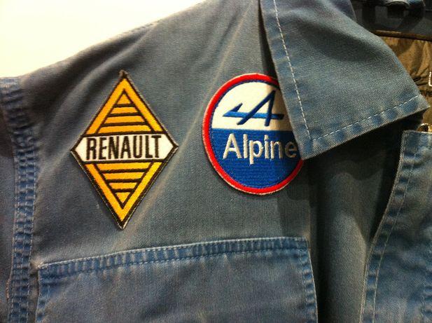 *Kombinezon*Mechaników*Renault*Alpine*Oryginalny*lata*70*