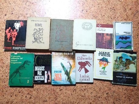Zestaw książek - 12 pozycji, 1 zł za sztukę!