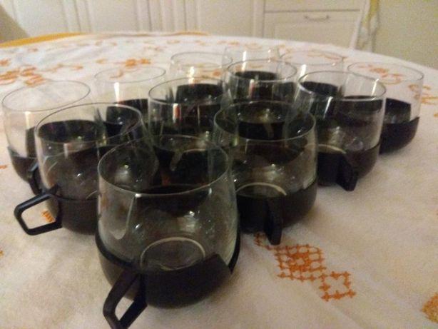 Komplet 12 szklanek z uchwytami