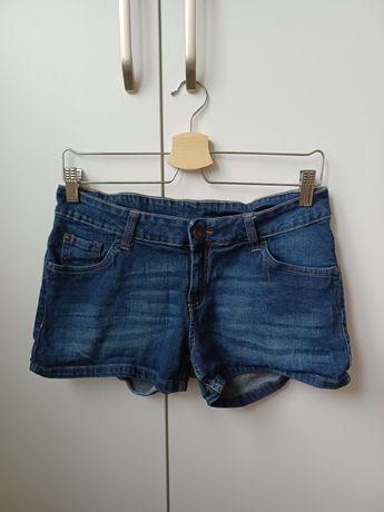 Szorty dżinsowe krótkie spodenki damskie jeansowe esmara 38 40 M L