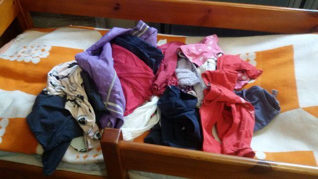 Zestaw ubran dla dziewczynki w roz.116