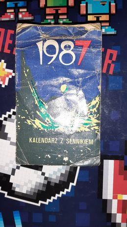 Kalendarz ździerak 1987