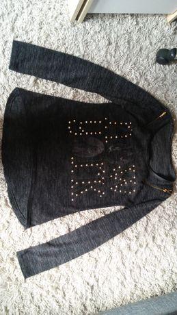 Szara bluzka - rozmiar S