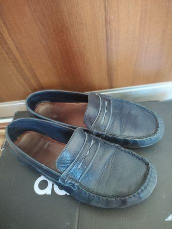Туфли лоферы Zara кожа