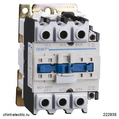 Контактор Пускатель CHINT NC1-8011 80А 230В/АС3 1НО+1НЗ
