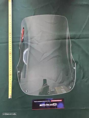 Viseira Yamaha xtz 750 super tenere vidro Acrilico alto bolha frontal