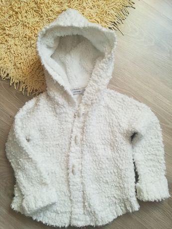 Płaszczyk - sweter 98-104