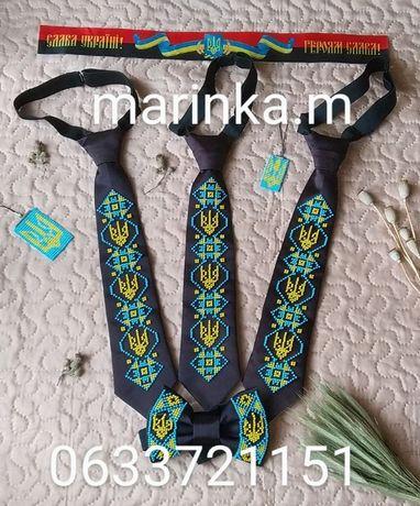 краватки, метелик, вишивка бісером. ручна робота