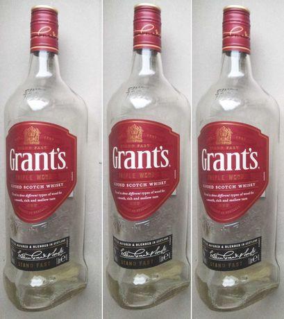 Butelki Po Whisky Grant's 1,0 Litra