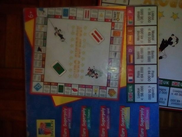 Superpoly jogo tipo monopoly