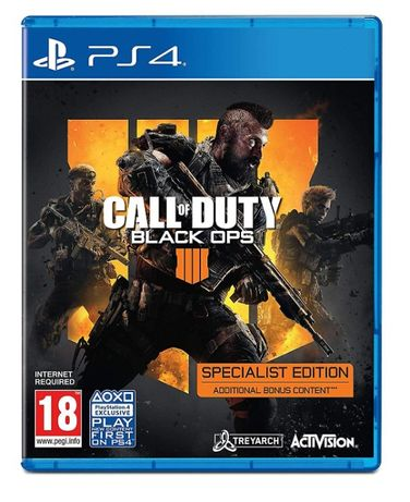 Call of Duty BLACK OPS IIII 4 special edition
