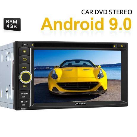 Radio Nawigacja 2DIN Android 9.0 4GB PX5 GPS DVD Gwarancja