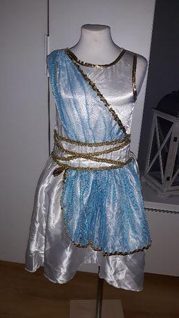 Strój karnawałowy EGIPCJANKA KLEOPATRA królowa Egiptu 140/146 (5 IDEAŁ