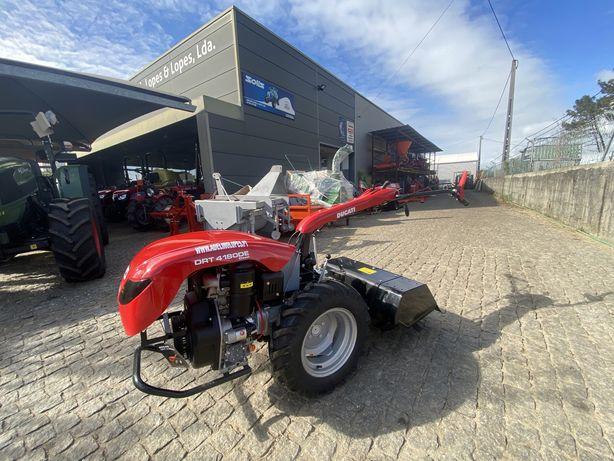 motocultivador NOVO DUCATI diesel 10cv arranque eletrico com fresa