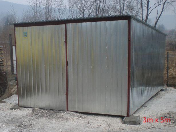 garaże blaszane, garaż 3x5, transport, montaż gratis, wiaty, hale,