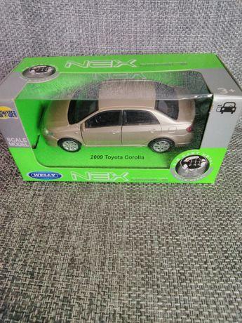 Samochód Welly Toyota Corolla