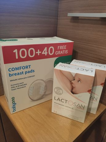 Lactosan mama + wkładki laktacyjne