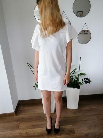 Biała sukienka Top secret