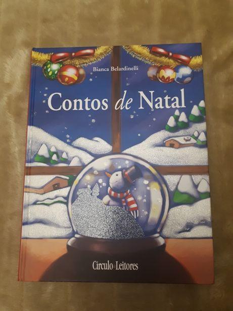 """Livro """"Contos de Natal"""" de Bianca Belardinelli por apenas 8€."""