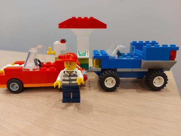 Lego stacja benzynowa
