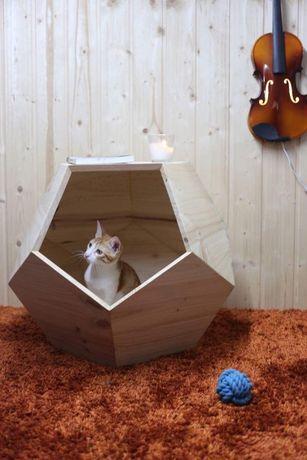 Cama de luxo para gato