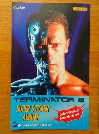 Альбом для наклейок Термінатор 2 Данкін Terminator 2 (Фан перевидання)