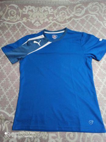 Puma , футболка ,цвет синий