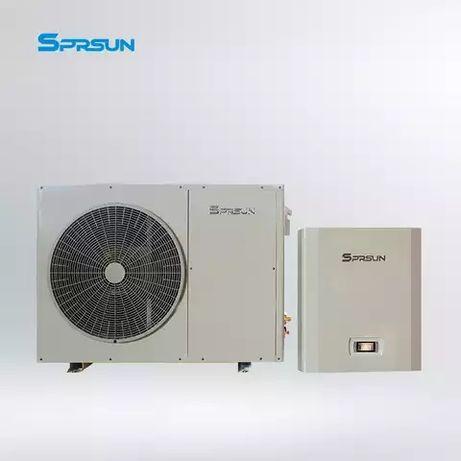 Тепловой насос воздух вода сплит инвертор 10 кВт
