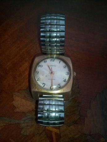 Часы восток с позолотой