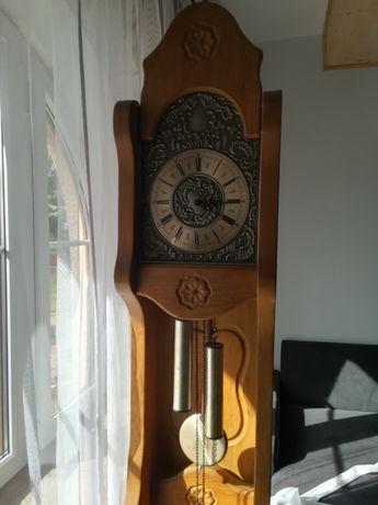 Sprzedam stary dębowy stojący niemiecki zegar