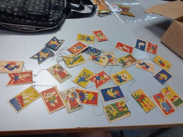 Гирлянда новогодняя ёлочные игрушки СССР