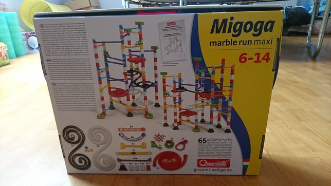 Migoga marble run maxi 6-14 lat zabawka spadające piłeczki