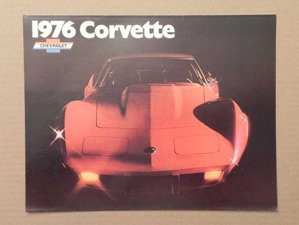 Prospekt - CHEVROLET CORVETTE C3 - 1976 r
