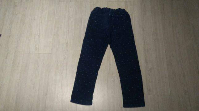 Spodnie sztruksy rozmiar 128 Cool Club Smyk