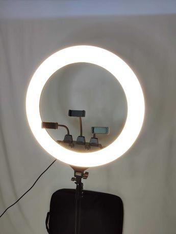 [NOVO] Ring Light Profissional • 210W • [55 cm] Tripé [70 - 200 cm]