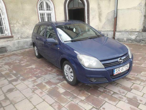 Opel Astra H 1.7 CDTI 101KM 5 Bieg 2005r Kombi Klima