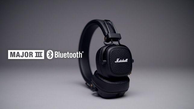 Навушники Marshall Major III Bluetooth Black Нові! Відправка 24h