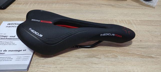 Седло, сиденье для велосипеда Wittkop Medicus Air Memory Германия!