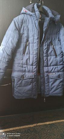 Куртка зимняя на мальчика, подростка, пуховик