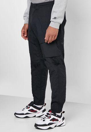 штаны Nike Tech Pack Quilted Sweatpants ОРИГИНАЛ р М bv4639 010 fleece