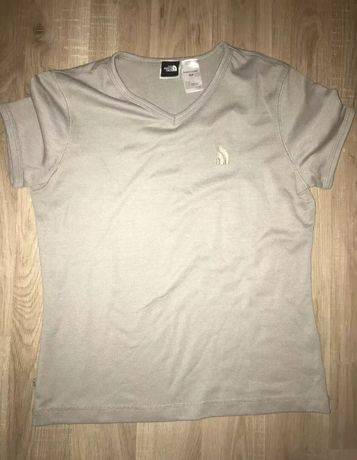 Tshirt NorthFace (the North Face) bege para mulher S