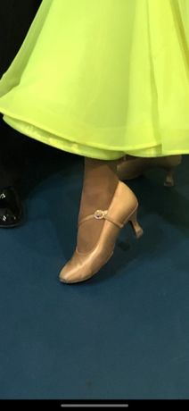 Туфли International стандарт для бальных танцев р35(22см)