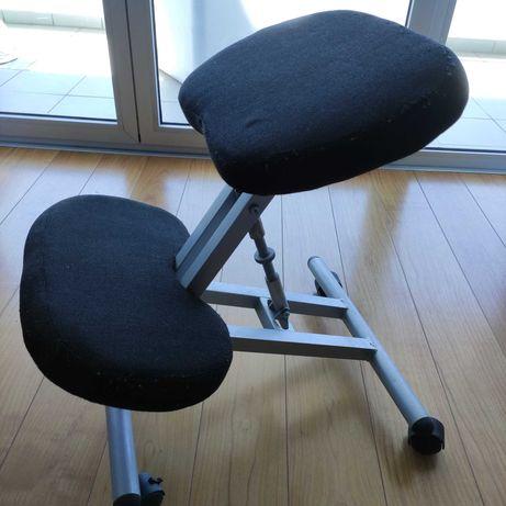 Cadeira ergonômica sem costas