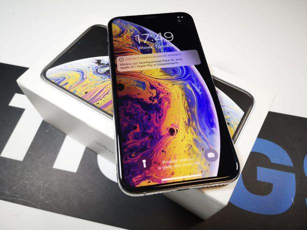 Używany Iphone XS 64GB Silver Gwarancja Producenta