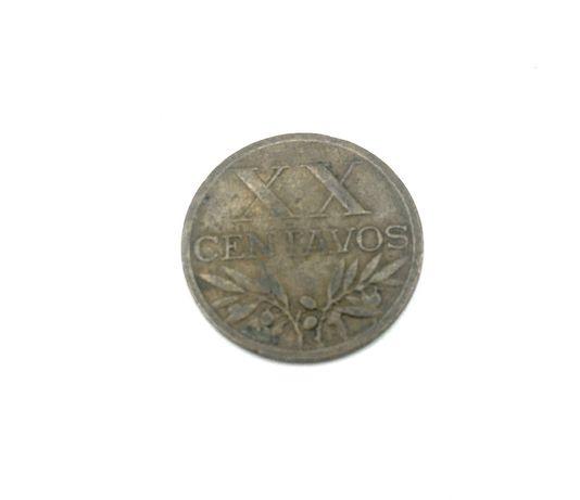 Moeda XX centavos 1951 Bronze