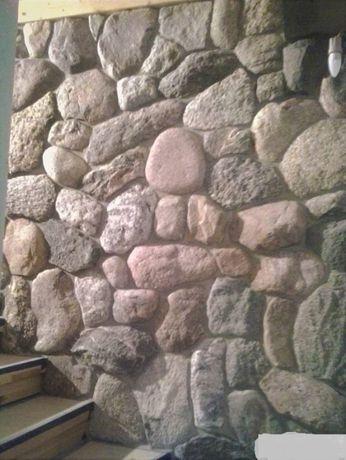 Kamień polny tzw. piętki ,dekoracyjny,elewacyjny,ozdobny