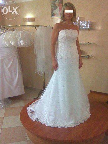 Suknia ślubna za 3000 zł w niskiej cenie