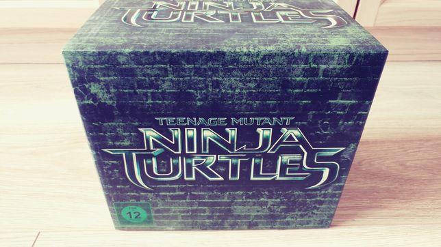Bluray Żółwie Ninja + figurka.