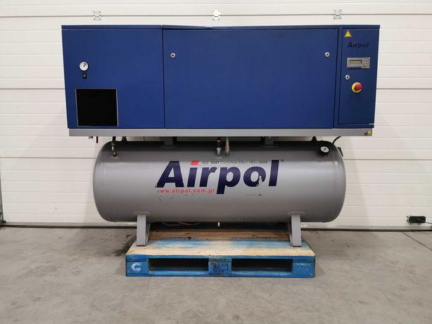 Sprężarka śrubowa 11kw AIRPOL KT11 kompresor 1600l/min +OSUSZACZ 10bar